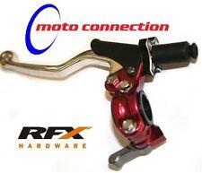 RFX Rojo Fácil de Ajustar Palanca De Embrague Completo Assy Hot Start CRF H. KXF YZF 250/450