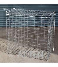 Gabion Cage 528mm L x 978mm W x 978mm H, 75x75mm, AL-TEN