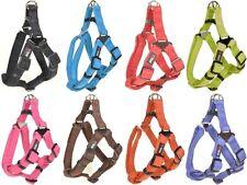 Dogline Comfort Microfiber Soft Padded Step In Pet Puppy Dog Harness Nylon Reinf