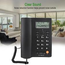 Téléphone Fixe Répondeur Enregistreur Mains Libres pour Maison / Bureau / Hôtel
