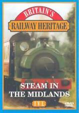 Britain's Railway Heritage - Steam In The Midlands / North (2 Dvds) VGC