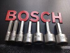 New GENUINE Bosch Hex Tek Screw Nut Bolt Driver Sets Universal Bosh Heavy Duty 2