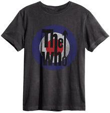 Amplified - The Who Logo Herren T-Shirt (Grau) (S-XL)