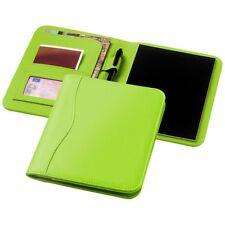 Gepolsterte Lederoptik Portfolio / Schreibmappe Ebony DINA5 moderne Farben -NEU-