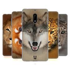 HEAD CASE DESIGNS ANIMAL FACES 2 SOFT GEL CASE FOR NOKIA PHONES 1