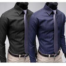 New Mens Fashion Luxury Casual Style Slim Fit Dress Long Sleeves Shirts YC6084