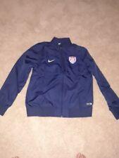 Nike USA Soccer Training Jacket Blue Mens Medium and Large