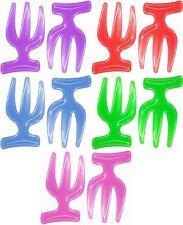 Salad Hands Serving Tongs Plastic Kitchen Utensils Tool Assorted