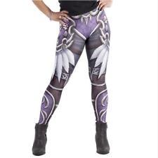 Woman legging WOW Game Horde Skull Feather Printed Legging Elastic legging S-XL