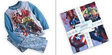 Disney Store Boy' Avengers Marvel Hero Pajama Pants & Long Sleeve Top 2-Pc Set 4