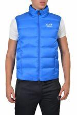 "Emporio Armani ""EA7"" Blue Full Zip Men's Duck Down Vest XS S M L XL"