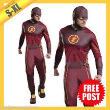 RD Mens Adult Costume DC Comics The Flash TV Series Jumpsuit 810395