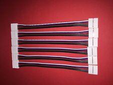 LED SMD RGBW Strip Leiste RGB+W Band Stripe Kabel- Schnell- /Verbinder 5POL PIN