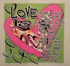 LOVE IS PATIENT, LOVE IS KIND  CHRISTIAN JESUS HOODED SWEATSHIRT #SC-56 HOODIE