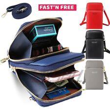 Mini Cross-body CELL Phone Shoulder Bag Pouch Case Belt Handbag Purse Wallet HOT