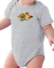.Infant creeper bodysuit One Piece t-shirt Kitten On A Quilt Kitty Cat k-538