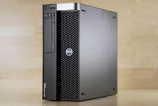 Dell Precision T3610 Workstation Desktop PC Quad Core E5-1620v2 CPU 32GB RAM SSD