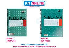 A5/A4 Metalic Jotta Memo Notebook 200 Pages 80gsm Wirobound Pukka Pad