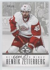 2012 Panini Limited Silver #137 Henrik Zetterberg Detroit Red Wings Hockey Card