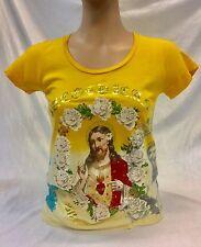 Women's Fashion Paco Chicano Jesus Tee Shirt by Christian Audiger