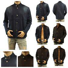 Men's Fashion Tailor Denim Cotton Jean Jacket Casual Outdoor Canvas Biker Coat