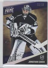 2011-12 Panini Prime Silver #45 Jonathan Quick Los Angeles Kings Hockey Card