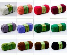 JoJoLand Tonic 100g Wool Blend Yarn Color Choice Loom Knit Crochet FS Offer