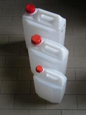 CA0001 Tanica 10 litri lt bidone plastica resina per alimenti
