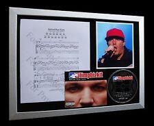 LIMP BIZKIT Behind Blue Eyes LTD QUALITY CD FRAMED DISPLAY+EXPRESS GLOBAL SHIP!!
