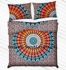 Bedding Set Double Quilt Duvet Cover Mandala Hippie Gypsy Indian Blanket Set