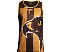 AFL Hawthorn Hawks Mens Training Singlet 2016-2017 - sizes M L 2XL