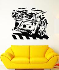 Vinyl Wall Decal BMW German Car Racing Speed Race Driver Stickers (1841ig)