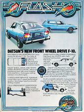 1976 Datsun F10 F-10 Flash  Classic Advertisement Ad