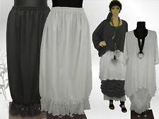 Neuf Grande Taille Femmes stretch Jupe en Blanc avec belle détails taille 46,54,56