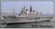 HMS Illustrious - JUMBO FRIDGE MAGNET - BRAND NEW