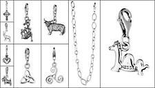 Toucan Of Scotland .925 Sterling Silver Celtic Scottish Design Bracelet Pendant