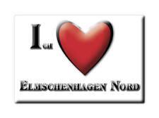 DEUTSCHLAND SOUVENIR - SCHLESWIG HOLSTEIN MAGNET ELMSCHENHAGEN NORD (KIEL)