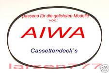 Flachriemen für  gelistete AIWA AD-WX...**NEU**Peese**
