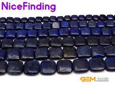 Wholesale Square Diagonal Blue Lapis Lazuli Gemstone Beads For Jewlery Making