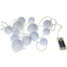 LED String Ball Lights, 13 LED, 9-Feet