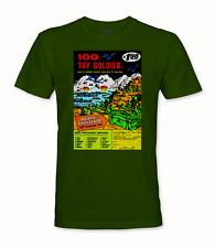 Army Men - Custom Retro Comic Book Ad T-Shirt - [A04] - Adult sizes S thru 5X