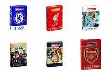 Juegos de cartas Pack Película de fútbol Marvel DC Comic Harry Potter Family Fun