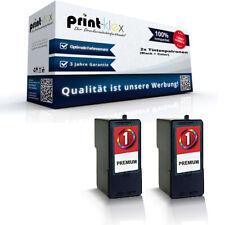 2x Cartuchos de tinta para Lexmark 0080d2955 Set color - Impresora Serie Pro