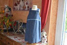 robe cyrillus doublee 4 ans bleu double liseret bleu 50% laine*