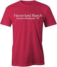 Neverland Ranch Mens T-Shirt - Funny Joke Rude Offensive Michael Jackson Gift