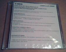 Canon Laser Class 2060P : Printer Driver Ver1.00x for Windows XP :Sealed in Case