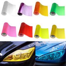 Car Light film Vinyl Wrap Headlight Taillight Transparent Different Colours