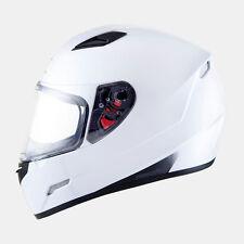 Casco integral MT Helmets Mugello Solid blanco negro titanio amarillo