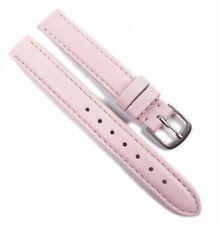 Herzog Beach LW relojes pulsera cuero banda Hell rosa/rosa 21679s