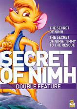SECRET OF NIMH/SECRET OF NIMH 2 (DVD, 2011) NEW